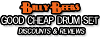 Billy Beebs Amazon Store -Good Cheap Drum Set