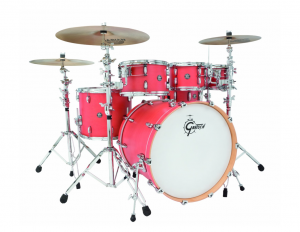 Gretsch-Coral-finish-Good Cheap Drum Set