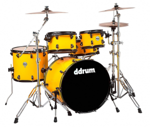 ddrum Flash Yellow - Intermediate Drum Kit